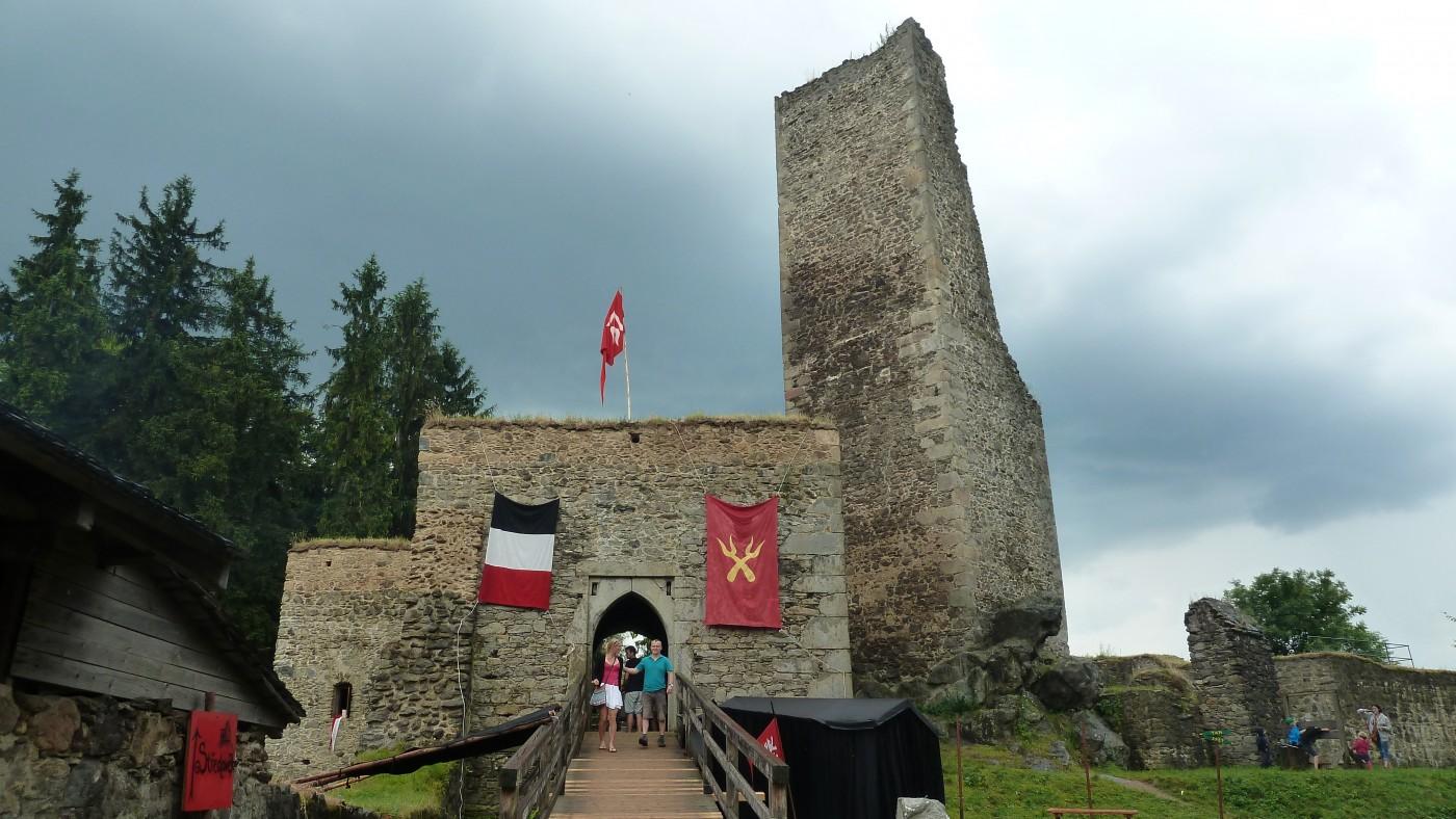 Zřícenina hradu Orlík