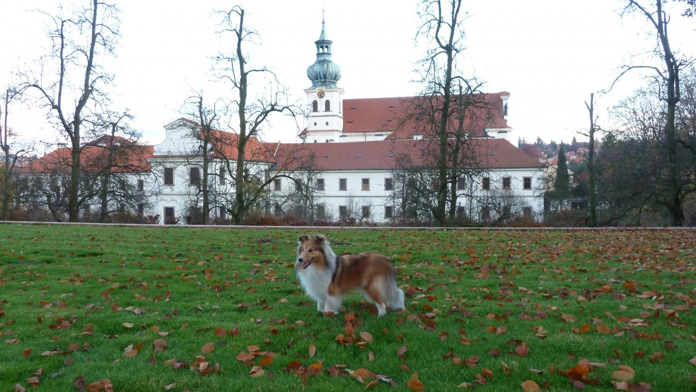 Podzimní procházka Břevnovským klášterem